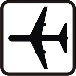 Icon Flughafen